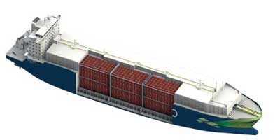 Compressed natural gas carrier 1