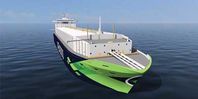 Compressed natural gas carrier 2